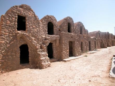 habitation troglodyte, tunisie