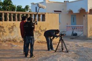 coulisse tournage en Tunisie